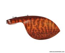 CHINREST GUARNERI STYLE - Snakewood