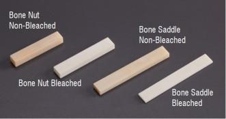 Guitar Bone Saddle Blank