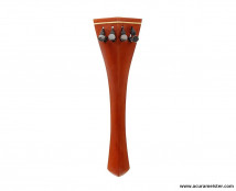 HILL Style Tailpiece - INDIAN BOXWOOD with BEIGE (Boxwood) Fret